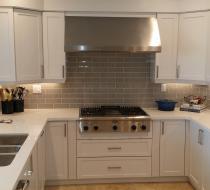 White Modern Custom Kitchen Cabinet Design & Installation New Style Kitchen Cabinet Miami Florida USA