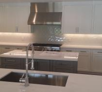 Modern White Kitchen Cabinet Miami Florida