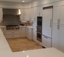 White Modern Custom Kitchen Cabinet Design & Installation New Style Kitchen Cabinets Miami Florida USA